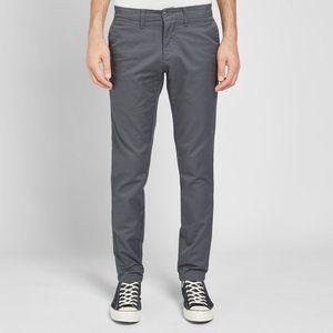 Carhartt sid chino pants in grey size 32x32